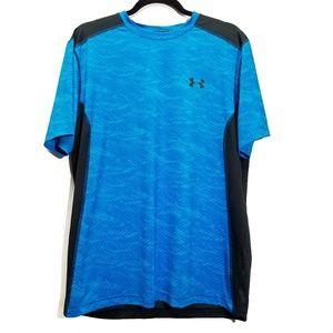 Men's Under Armour Fitted Heat Gear T shirt sz L